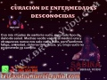 CURACIONES DE DAÑOS POR ENFERMEDAD Y ADICCIONES;