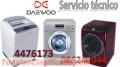 SERVICIO TECNICO LAVADORA SECADORA  DAEWOO  014476173
