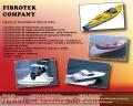 Productos hechos en fibra de vidrio fibrotek