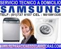 981091335/ EXPERTOS en Lavadoras Samsung  Huachipa