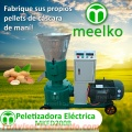 Meelko Peletizadora 200mm 15 hp Diesel para alfalfas y pasturas 160-260kg - MKFD200A