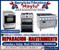 |01-4804581@sears/ servicio y Técnico de cocinas indurama a gas y eléctrica (santa anita)