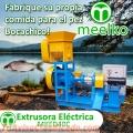 Extrusora para pellets flotantes para peces 30-40kg/h 5.5kW - MKED040C