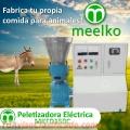 Meelko Peletizadora 150 mm electrica 5.5kw kw para concentrados balanceados 100-150 kg/h