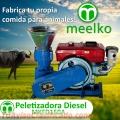 Meelko Peletizadora 150 mm 8 hp DIESEL para concentrados balanceados 80-130 kg/h - MKFD150