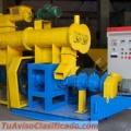 Extrusora para alimentación de peces 250kg/h - MKED080B