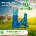Meelko Peletizadora Máquina  de hacer pellets de concentrados balanceados MKFD200P