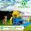 Extrusora Meelko para pellets alimentacion gatos 300-350kg/h 37kW - MKED090B