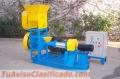 Extrusora para pellets alimentacion gatos 120-150kg/h 15kW - MKED060C