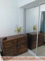 Alquiler apartamento amueblado de 2 habitaciones, Don Bosco, gazcue, Unibe