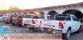 Alquiler de camionetas para provincia