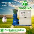 Meelko Peletizadora 230 mm electrica 11 kw para concentrados balanceados MKFD230C