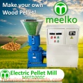 Maquina Meelko para pellets con madera MKFD200C