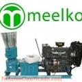 Peletizadora 300mm 55 hp Diesel para alfalfas y pasturas 500-600kg/h - MKFD300A