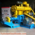 Extrusora para pellets alimentacion gatos 200-250kg/h 22kW - MKED080B