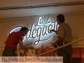 Fross decorativos letreros publicitarios de alto impacto en acrílico