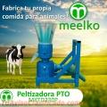Máquina Meelko para pellets con madera 230 mm PTO 120-200 kg/h - MKFD230P