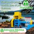 Extrusora Meelko para pellets flotantes para peces 300-350kg/h 37kW - MKED090B