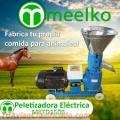 Maquina Meelko para pellets con madera 150 mm eléctrica 60-90 kg/h - MKFD150B