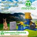 Extrusora Meelko para pellets alimentación perros y gatos 120-150kg/h 15kW - MKED060C