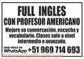 Clases de inglés con Profesor Nativo, Enviar mensaje por  WhatsApp 969 714 693