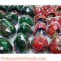 Adornos para árbol navideño Hecho a mano en Mate (Calabaza) burilado por Mayor- desde Perú