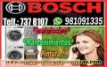 BOSCH>>>SoPorte Tècnico de SECADORAS –en Jesús María (981091335)