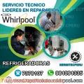 Técnicos Whirlpool/ Reparaciones de REFRIGERADORAS/  En San Luis>7378107