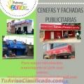 CENEFAS Y FACHADAS PUBLICITARIAS.