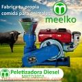 Meelko Peletizadora 200 mm 15 hp DIESEL para concentrados balanceados 200-300 kg/h - MKFD2