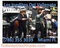 GRUPO VALLENATO EN ORLANDO FL. 786 355 3039