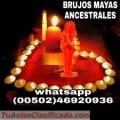 "BRUJERIA PARA AMORES IMPOSIBLES ""BRUJOS MAYAS ANCESTRALES"" 01502-50552695 / 00502-46920936"