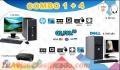COMBOS CYBER DE 04 COMPUTADORAS DELL +01 COMPUTADORA HP  PROCESADOR CORE2DUO PARA SERVIDOR