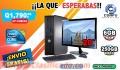 COMPUTADORAS HP COMPLETAS CON MONITOR DE 20P, CON ENVIO GRATIS, TEL: 5701-6630