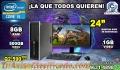 APROVECHE COMPUTADORAS HP COREi5 CON MONITOR DE 24 PULGADAS