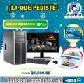 COMPUTADORAS HP CORE2QUAD/04GB RAM/500HD/LCD 19P/IMPRESORA HP CON WIFI, A Q 1,690.00