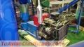 Maquina Meelko para pellets con madera 260 mm diesel 160-250 kg/h - MKFD260A