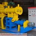 Extrusoras para alimentación de peces 250kg/h - MKED080B