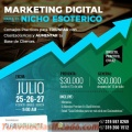 Ciclo de Conferencias en Bogotá de Marketing Digital para el Nicho Esotérico.