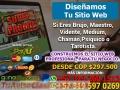 DISEÑO WEB ECONOMICO PARA BRUJOS, TAROTISTAS, PSÍQUICOS DESDE $297.500.