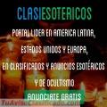 ANUNCIATE CON NOSOTROS EN CLASIESOTERICOS. +57 319 260 15 12