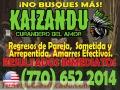AMARRES DE AMOR CON MAGIA BLANCA.  CURANDERO KAIZANDÚ (770) 652 2014