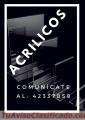 TODO EN ACRÍLICO COMUNÍCATE AL: 42337859