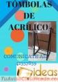 TÓMBOLAS DE ACRÍLICO COMUNÍCATE AL: 42337859