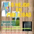 LO MEJOR EN PUBLICIDAD PARA PROMOCIONAR TU EMPRESA LLAMA AL: 42337859