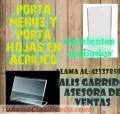 ACRILICOS Y MAS LLAMA AL: 42337859