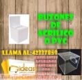 BUZONES EN PVC O ACRÍLICO LLAMA AL: 42337859