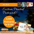Custom printing postcards