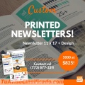 Best print newsletter design