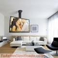 Instalacion colocacion Soporte Tv, Lcd, Led, Smart Tv, plasma, monitores paredes y techos
